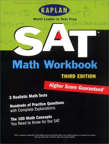 9780743201834: Kaplan SAT Math Workbook, Third Edition