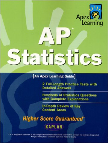 9780743201902: Ap Statistics: An Apex Learning Guide