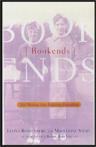 Bookends: Two Women, One Enduring Friendship