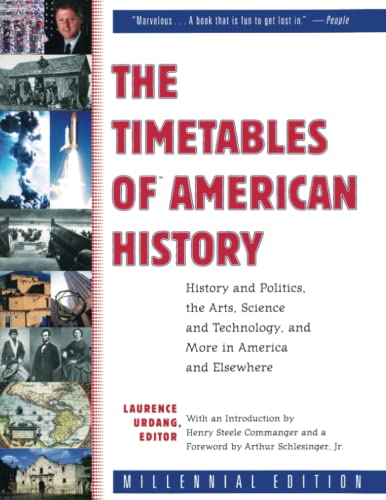 9780743202619: The Timetables of American History: History and Politics, the Arts, Science and Technology, and More in America and Elsewhere