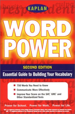 9780743205184: Kaplan Word power, Second Edition: Empower Yourself! 750 Words for the Real World (Kaplan Power Books)