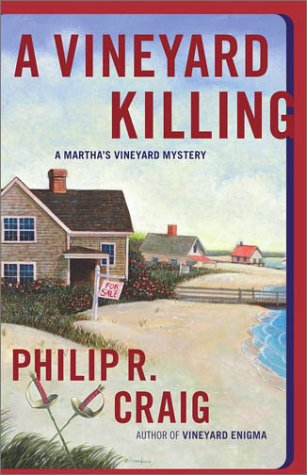 9780743205245: A Vineyard Killing: A Martha's Vineyard Mystery (Martha's Vineyard Mysteries)