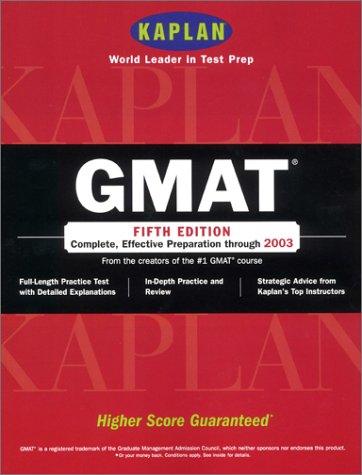 9780743205276: GMAT (Gmat (Kaplan))