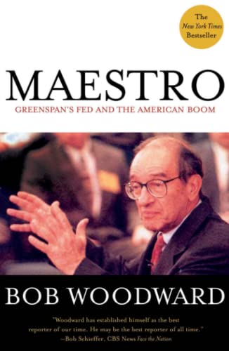 9780743205627: Maestro: Greenspan's Fed and the American Boom (Greenspan, Alan)