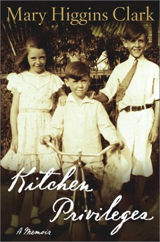 Kitchen Privileges 9780743206051 In her long-awaited memoir, Mary Higgins Clark, America's beloved and bestselling Queen of Suspense, recounts the early experiences that shaped her as a person and influenced her as a writer. Even as a young girl, growing up in the Bronx, Mary Higgins Clark knew she wanted to be a writer. The gift of storytelling was a part of her Irish ancestry, so it followed naturally that she would later use her sharp eye, keen intelligence, and inquisitive nature to create stories about the people and things she observed. Along with all Americans, those who lived in New York City's borough of the Bronx suffered during the Depression. So it followed that when Mary's father died, her mother, deciding to open the family home to boarders, placed a discreet sign next to the front door that read, FURNISHED ROOMS. KITCHEN PRIVILEGES. Very shortly the first in a succession of tenants arrived: a couple dodging bankruptcy who moved in with their wild-eyed boxer; a teacher who wept endlessly over her lost love; a deadbeat who tripped over a lamp while trying to sneak out in the middle of the night... The family's struggle to make ends meet; her days as a scholarship student in an exclusive girls' academy; her after-school employment as a hotel switchboard operator (happily listening in on the guests' conversations); the death of her beloved older brother in World War II; her brief career as a flight attendant for Pan Am (a job taken after a friend who flew with the airline said ever so casually,  God, it was beastly hot in Calcutta ); her marriage to Warren Clark, on whom she'd had a crush for many years; sitting at the kitchen table, writing stories, and finally selling the first one for one hundred dollars (after six years and some forty rejections!) -- all these experiences figure into Kitchen Privileges, as does her husband's untimely death, which left her a widowed mother of five young children. Determined to care for her family and to make a career for herself, she ...