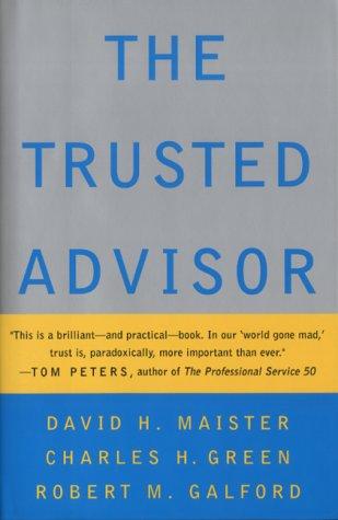9780743209632: The Trusted Advisor