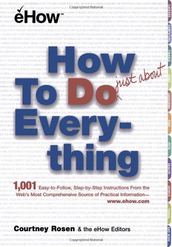 9780743211109: How to Do Just about Everything
