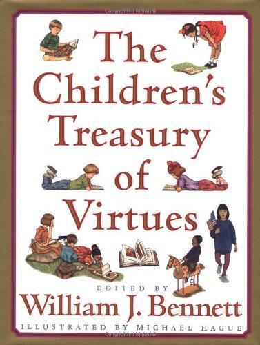 9780743211369: The Children's Treasury of Virtues