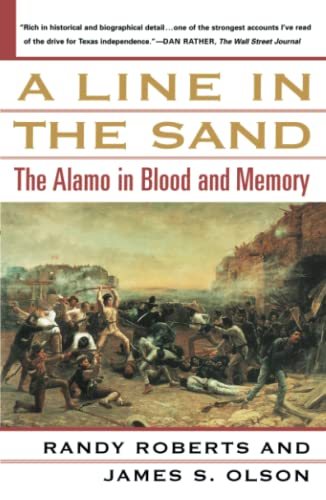 9780743212335: A Line in the Sand: The Alamo in Blood and Memory