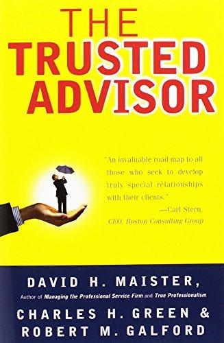 9780743212342: The Trusted Advisor