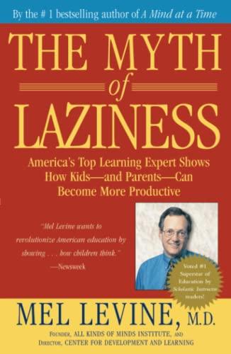 9780743213684: The Myth of Laziness