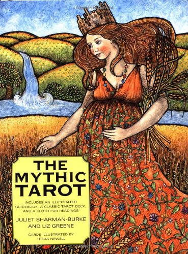 9780743219198: The Mythic Tarot [With Full-Color Deck and Wrinkle-Proof Cloth for Readings]