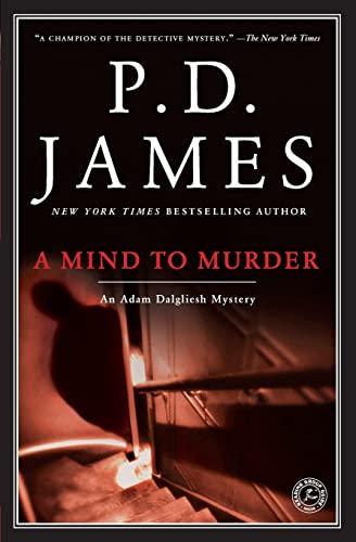 9780743219587: A Mind to Murder (Adam Dalgliesh Mysteries, No. 2)