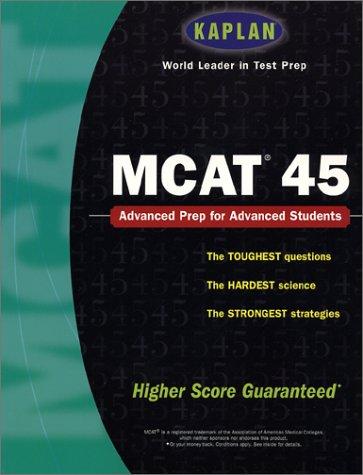 9780743224369: Kaplan MCAT 45