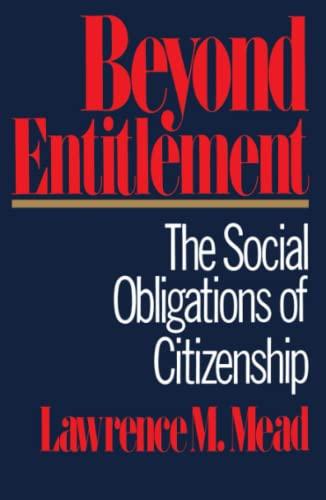 9780743224956: Beyond Entitlement