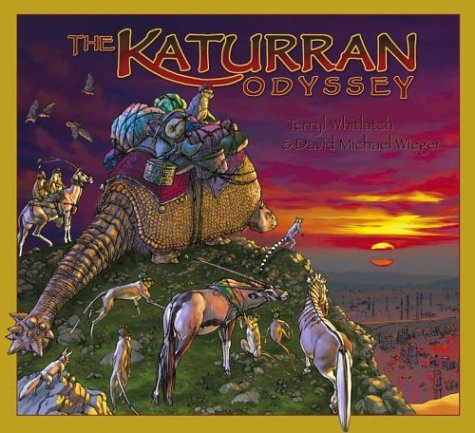 The Katurran Odyssey Book One - Finding: Whitlatch, Terryl &