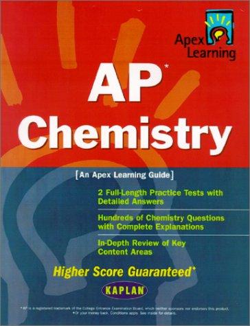 9780743225892: AP Chemistry: An Apex Learning Guide (Kaplan AP Chemistry)