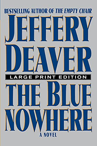 9780743230483: The Blue Nowhere: A Novel
