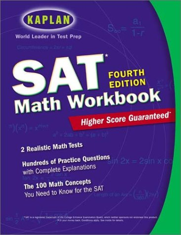 9780743230551: Kaplan SAT Math Workbook, 4th Edition