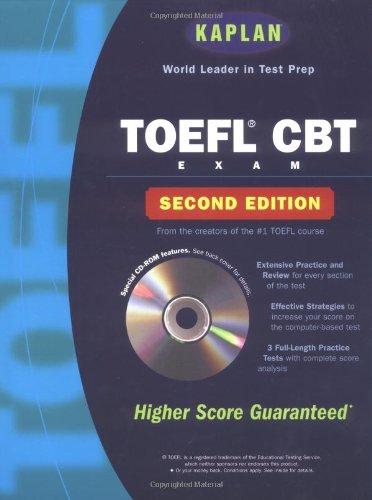 Kaplan Toefl Ibt Preparation Book Cd