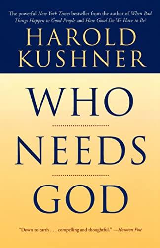 9780743234771: Who Needs God