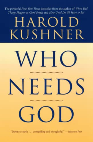 Who Needs God (0743234774) by Harold Kushner