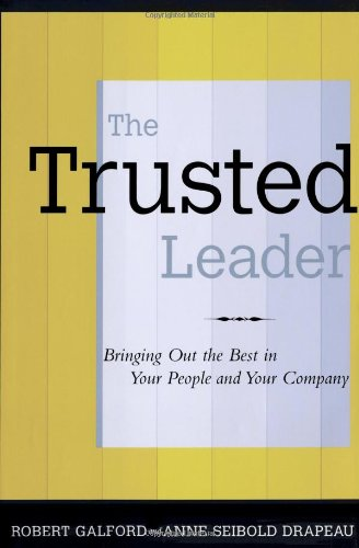 9780743235396: The Trusted Leader