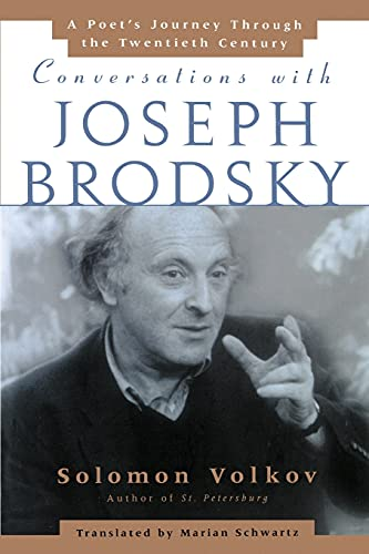 9780743236393: Conversations With Joseph Brodsky