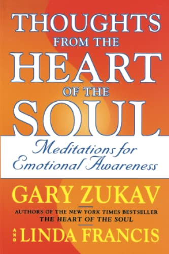 9780743237284: Thoughts from the Heart of the Soul: Meditations for Emotional Awareness: Meditations on Emotional Awareness