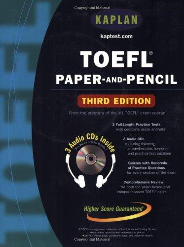 9780743241373: TOEFL Paper-and-Pencil (Kaplan Toefl)