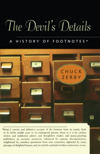 9780743241755: The Devil's Details: A History of Footnotes