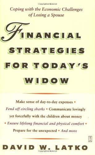 9780743243735: Financial Strategies for Today's Widow: Coping with the Economic Challenges of Losing a Spouse