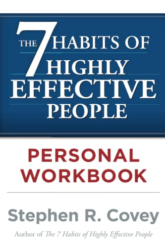 9780743250979: The 7 Habits of Highly Effective People Personal Workbook