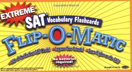 9780743251303: Extreme SAT Vocabulary Flashcards Flip-O-Matic