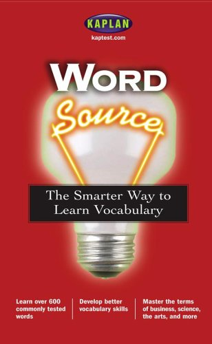 9780743251617: Word Source: The Smarter Way to Learn Vocabulary (Kaplan Word Source)