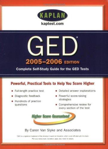 9780743251662: Kaplan GED 2005-2006