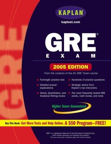 9780743251693: Kaplan GRE Exam 2005