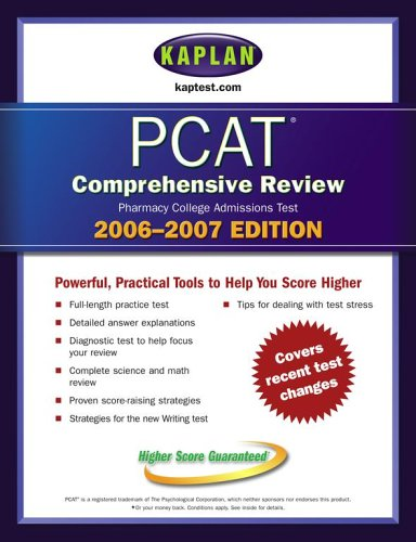 9780743251860: Kaplan PCAT 2006-2007