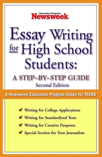 9780743252010: Essay Writing for High School Students: A Step-by-Step Guide