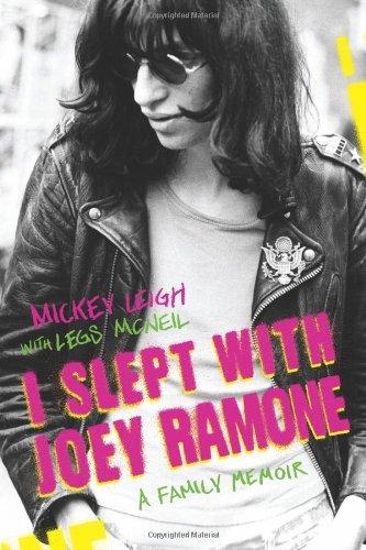 9780743252164: I Slept with Joey Ramone: A Family Memoir