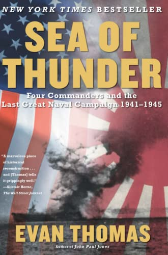 9780743252225: Sea of Thunder: Four Commanders and the Last Great Naval Campaign 1941-1945