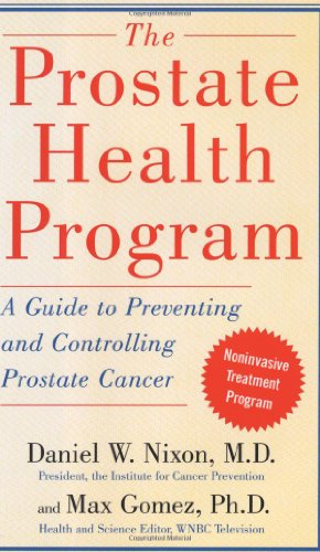 9780743253482: The Prostate Health Program: A Guide to Preventing and Controlling Prostate Cancer