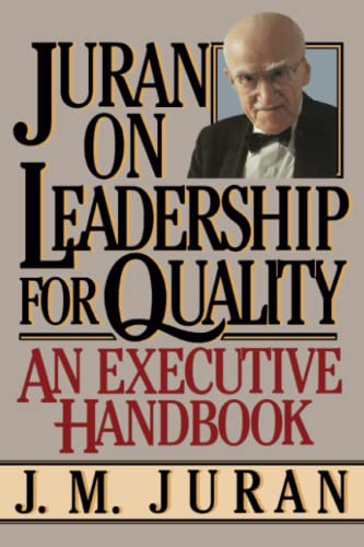 9780743255776: Juran on Leadership for Quality