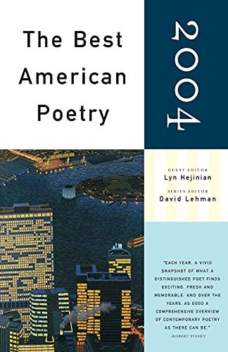 9780743257572: The Best American Poetry 2004: Series Editor David Lehman