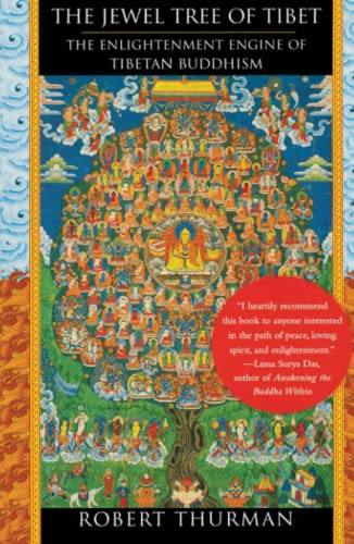9780743257633: The Jewel Tree of Tibet: The Enlightenment Engine of Tibetan Buddhism