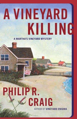 9780743257657: A Vineyard Killing (Martha's Vineyard Mystery #14)