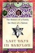 9780743258432: Last Days in Babylon: The History of a Family, the Story of a Nation