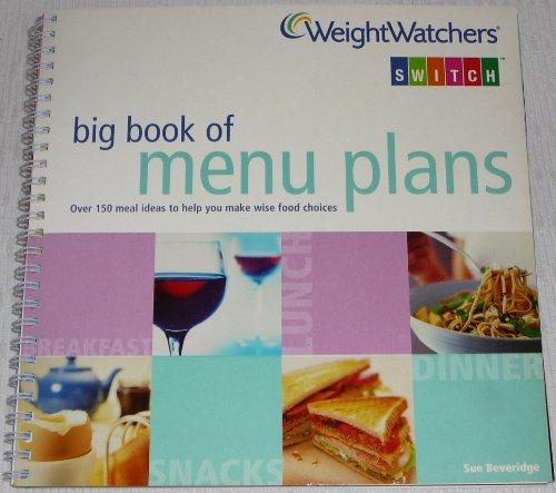9780743259675: Weightwatchers Big Book of Menu Plans