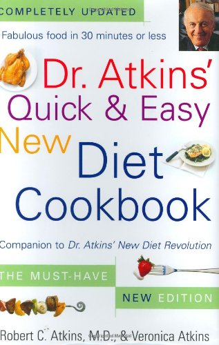 9780743260008: Dr. Atkins' Quick & Easy New Diet Cookbook: Companion to Dr. Atkins' New Diet Revolution