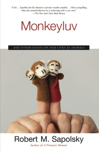 9780743260169: Monkeyluv: And Other Essays on Our Lives As Animals